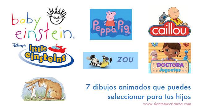 7 dibujos animados para hijos