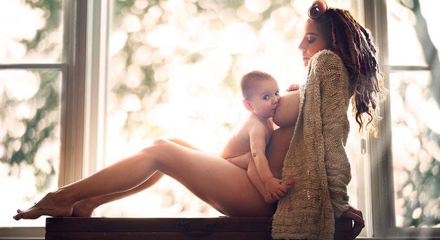 Las imágenes más bellas de la lactancia materna